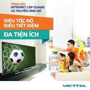 Lắp đặt internet và truyền hình viettel