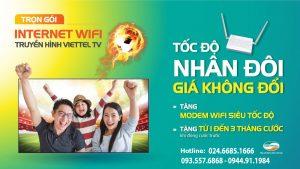 lăp mạng internet cáp quang viettel quận Nam Từ Liêm