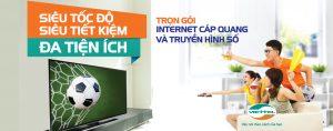 Lắp combo internet truyền hình Viettel