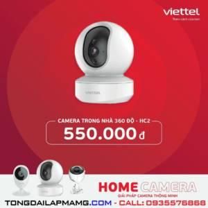Camera 360 độ trong nhà Viettel HC2
